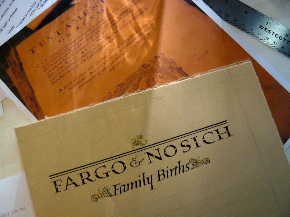 Fargo & Nosich